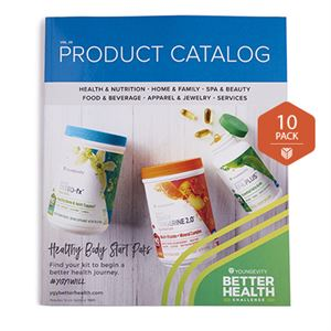 Picture of Youngevity Product 2018 Catalog 10 Pack